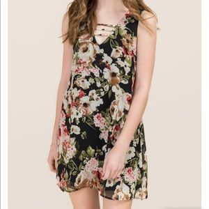 Size large britta shift dress